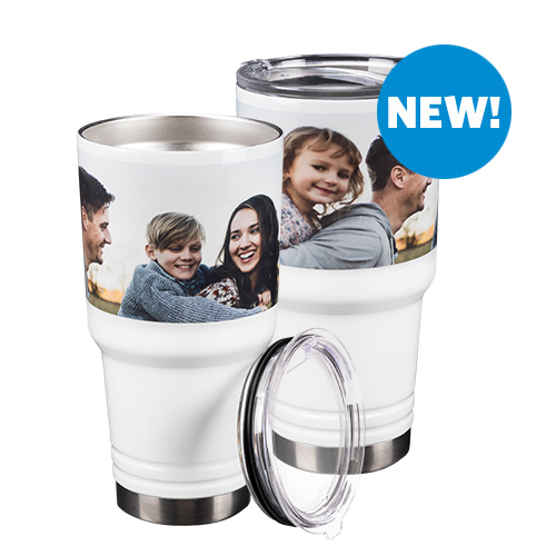 30 oz Double-Wall Tumbler - Take your favorite drink on-the-go along with your favorite memory.