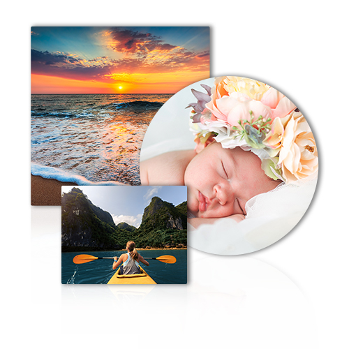 Metal Prints - Infuse your favorite photo onto a sleek aluminum wall panel.