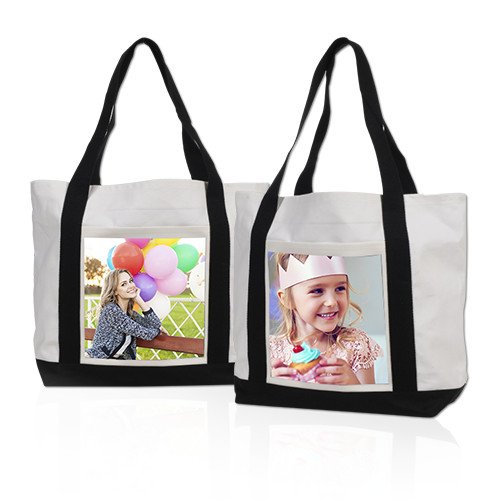Tote Bag - Make the perfect accessory for a person on the go with a heavy-duty canvas tote starring your photo.