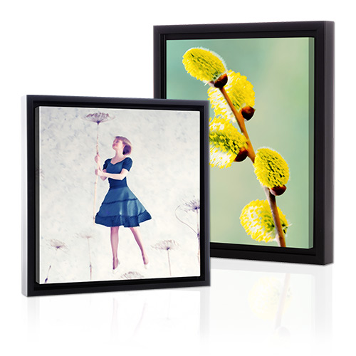 Framed Gallery-Wrapped Brushstroke Canvas - Create your very own wall art with a premium Framed Gallery-Wrapped Brushstroke Canvas. Your photo will be digitally-enhanced using a brushstroke design.