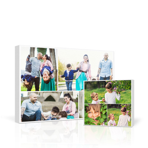 Collage Gallery-Wrapped Canvas - Decorate your wall with a professional quality Collage Gallery-Wrapped Canvas and turn up to 30 of your best photos into a work of art.