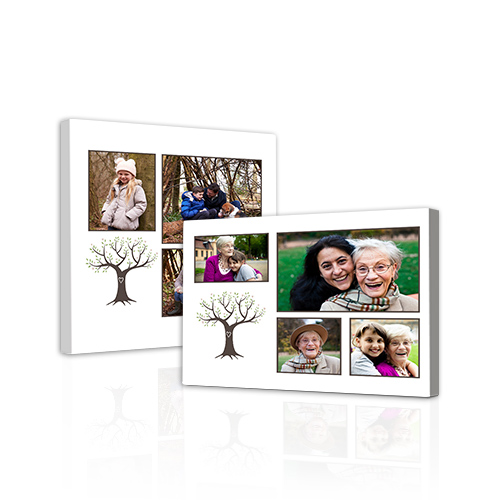 Family Tree Gallery-Wrapped Canvas - Bring out the best in your photos by choosing the Canvas Art design that features your favorite decorative elements.