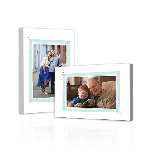 Simple Charm Gallery-Wrapped Canvas - Bring out the best in your photos by choosing the Canvas Art design that features your favorite decorative elements.