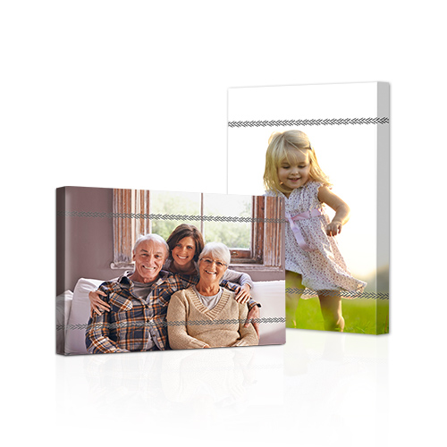 Simply Framed Gallery-Wrapped Canvas - Bring out the best in your photos by choosing the Canvas Art design that features your favorite decorative elements.