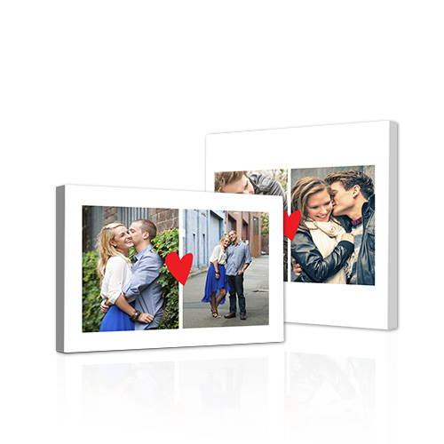 Simply in Love Gallery-Wrapped Canvas - Bring out the best in your photos by choosing the Canvas Art design that features your favorite decorative elements.