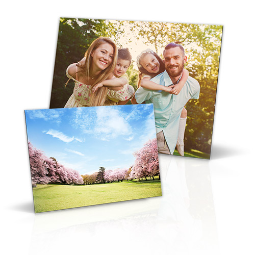 Metallic Mini - Get creative with our Metallic Mini! Customize this lightweight canvas board to personalize any home or workspace. Your photo is printed on a high quality metallic substrate with a protective overcoat. Arrives in two pieces; instructions included for ease of assembly.