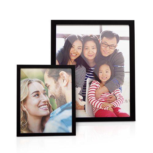 Framed Metallic Print - Display your favorite photo with a sleek and seamless Canvas Image Box. Your photo is printed on metallic lustre giclee paper and stands out from the wall in a 1 1/4' thick black frame.