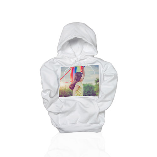 Hooded Sweatshirt - Be stylish with your photo on a cotton-blend hooded sweatshirt.