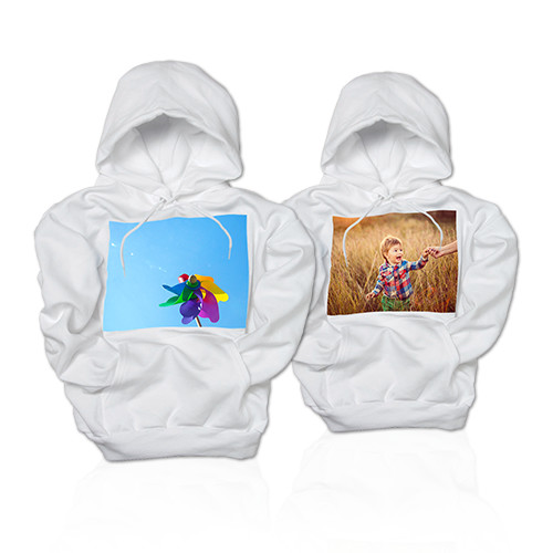 Youth Hoodie - Keep your little one warm in a hoodie printed with a special photo.
