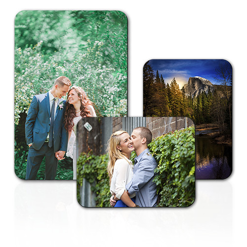 Magnet - Complete your refrigerator with a custom photo magnet featuring a treasured photo.