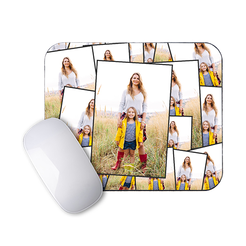 Tiled Mousepad - Decorate home or office with a mousepad showing your photo in a tile design.