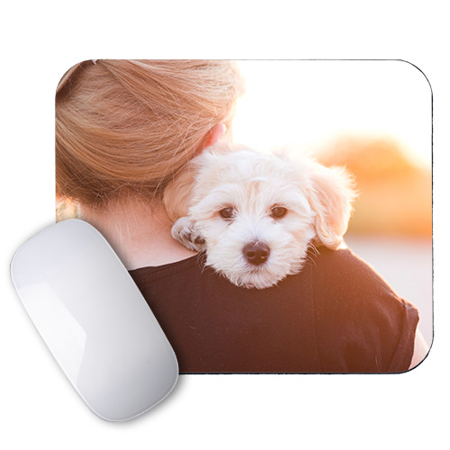 Photo Mousepad - Add friendly faces to your workspace with personalized mousepads.