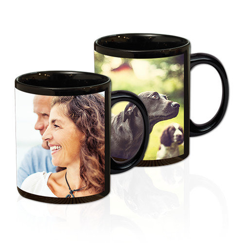 11 oz Black Mug - A 'hot' way to combine your favorite photo with a cup of java. Durable, dishwasher-safe 11-ounce mugs.