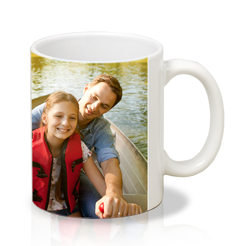 11 oz Photo Mug - Inspire a smile with every sip with your treasured photo on a dishwasher and microwave-safe 11oz mug.