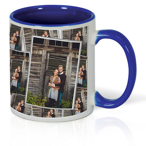 11 oz Tiled Photo Mug - Inspire a smile with every sip by tiling your favorite photo on a dishwasher and microwave-safe 11oz mug.