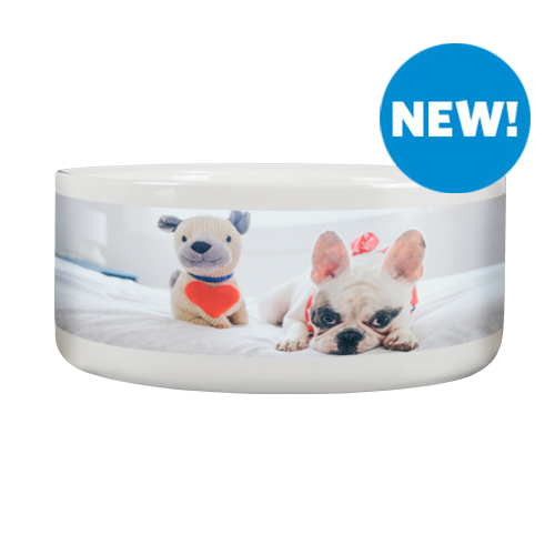 Dog Bowl - A personalized Dog Bowl big enough that even the hungriest belly will be fed.