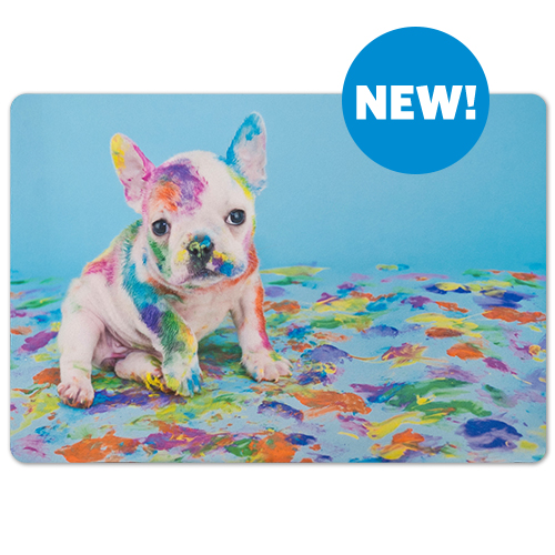 Pet Placemat - Keep mealtime tidy with a personalized Pet Placemat!