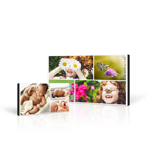Collage Mounted Prints - Bring your favorite photos to life with a Collage Mounted Print! Up to 30 of your best photos printed on Fujicolor Crystal Archive Paper for perfect clarity.