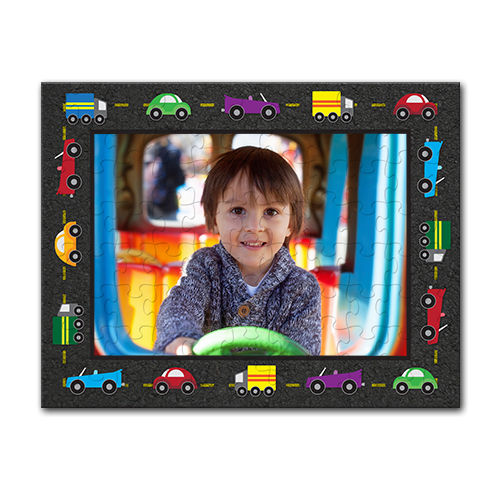 11 x 14 Childrens Puzzle - Enjoy this unique Children's Puzzle, with thick pieces and vibrant colors.