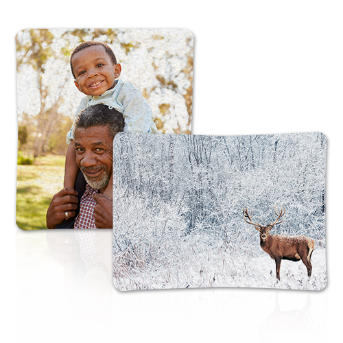 Sherpa Fleece Photo Blanket - Enjoy luxurious softness with a personalized Sherpa Blanket.