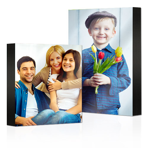 "Premium Pearl Standouts - Your best photos will pop as Premium Pearl Standouts. Photos are printed on premium pearl photo paper and mounted on 1 ½"" thick durable black boards."