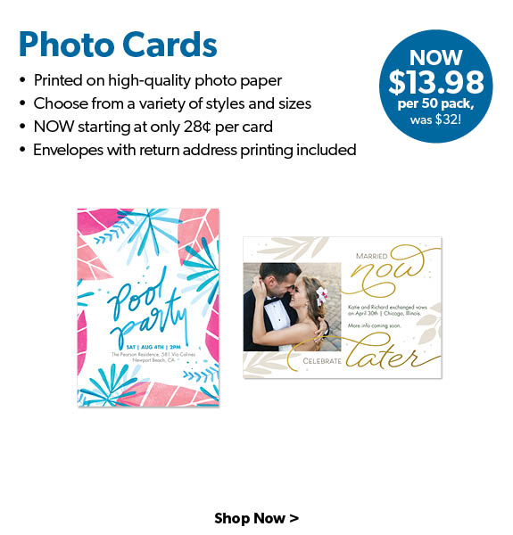 Shop Photo Cards