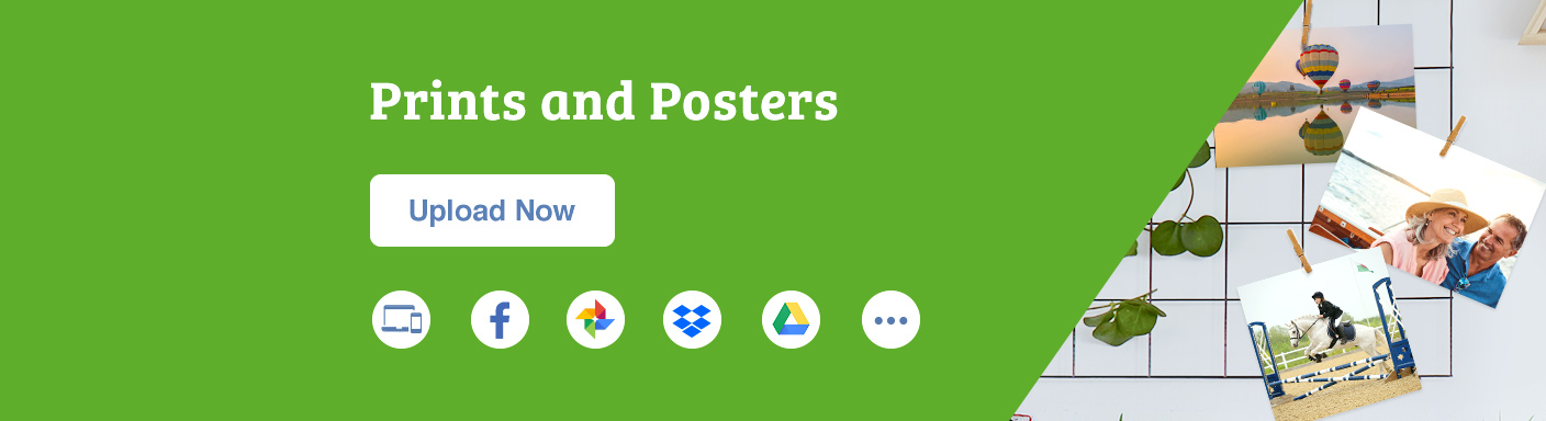 Prints, Enlargements and Posters banner