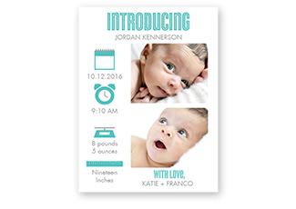 Birth Announcements Boy