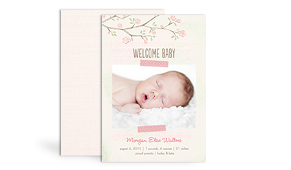 Birth Announcements - Girl