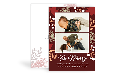 Create Custom Holiday Christmas Greeting Cards Sams Club Photo