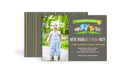 Sams Club Stationery Birthday Invitations - Birthday invitation for baby