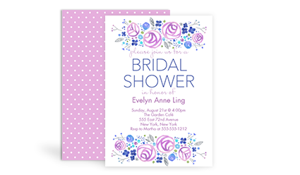 bridal shower invitations - Sams Club Wedding Invitations