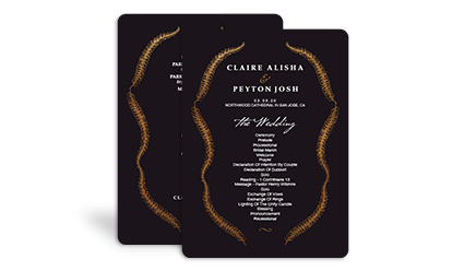 wedding programs - Sams Club Wedding Invitations