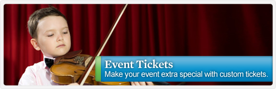 Make your gift of event tickets even more special by customizing them with the photo of your choice! A great way to add some extra dazzle to everything from the opera to a sporting event.