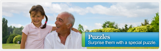 Turn your favorite photo into fun for the whole family with this custom puzzle.