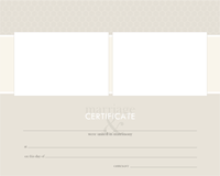 Certificate - Wedding - Certificate - Wedding