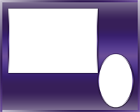 Sports Border - Purple - Sports Border - Purple