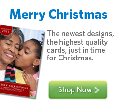 Whether it's traditional or modern, fancy or casual, Christmas really is our favorite time of the year. Share the holiday spirit and make a custom photo Christmas card that will hold a place of pride on everyone's mantle.